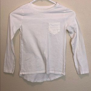 Children's place long sleeve off white shirt